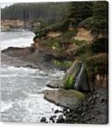 Along The Oregon Coast - 7 Canvas Print