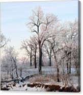 Along the River Canvas Print