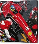 Alonso Ferrari 3 Canvas Print