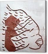Aloud - Tile Canvas Print