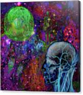 Alpha And Omega Electromagnetic Canvas Print