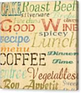 Alphabet Soup-a Canvas Print