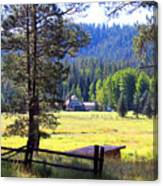 Alpine Arizona Canvas Print