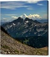 Alpine Country Canvas Print