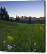 Alpine Dawn Canvas Print