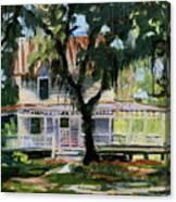 Alpine Grove Farmhouse Canvas Print