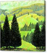 Alpine Hills Canvas Print