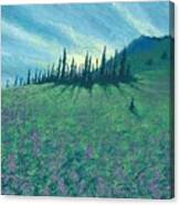 Alpine Hillside Canvas Print