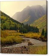 Alpine Loop Fall Canvas Print