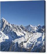 Alpine Panorama Canvas Print