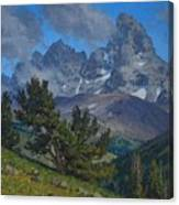Alpine Sentinels Canvas Print