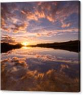 Alpine Sunset Canvas Print