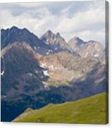 Alpine Tundra And The Colorado Continental Divide Canvas Print