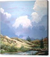 Alpine Vale Canvas Print