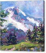 Alpine View Canvas Print
