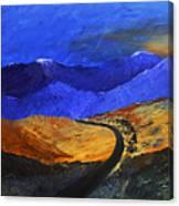 Alpine Vista Canvas Print