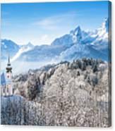 Alpine Winterdreams Canvas Print