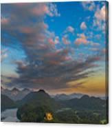 Alpsee Lake Canvas Print