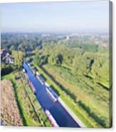 Alrewas Canal Canvas Print