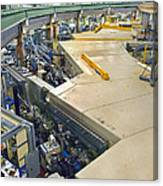 Als Beamlines And Inner Ring Canvas Print