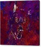 Alsatian Black Eyes German Shepherd  Canvas Print