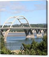 Alsea Bridge Br 7002 Canvas Print