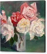 Altadena Roses Canvas Print