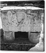 Altar At Copan Ruins In Honduras Canvas Print