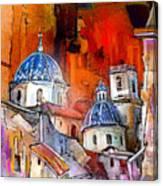 Altea 03 Canvas Print