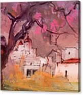 Altea La Vieja In Spain 18 Canvas Print