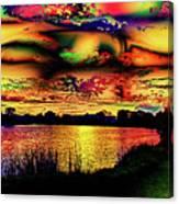 Alternative Cloud Design Canvas Print