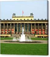 Altes Museum In Berlin Canvas Print