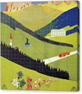 Alto Adige South Tyrol Canvas Print