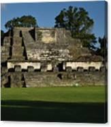 Altun Ha Mayan Temple Canvas Print