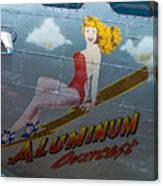 Aluminum Overcast Canvas Print