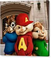 Alvin And The Chipmunks Canvas Print