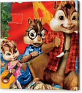 Alvin And The Chipmunks Chipwrecked Canvas Print