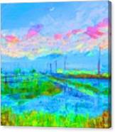 Alviso Evening Canvas Print