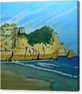 Alvor Praia's Canvas Print