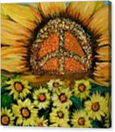 Always Face The Sun Canvas Print