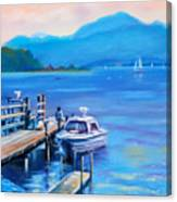 am Chiemsee Canvas Print