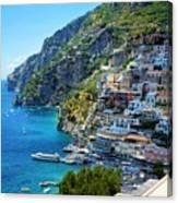 Amalfi Coast, Positano, Italy Canvas Print