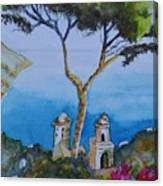 Amalfi Italy Color Canvas Print
