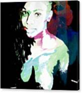 Amani African American Nude Fine Art Painting Print 4966.03 Canvas Print