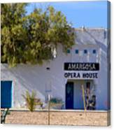 Amargosa Opera House Canvas Print