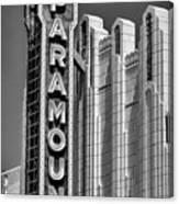 Amarillo Paramount Theatre - #1 Canvas Print