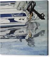 Amarre En Raos Canvas Print