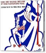 Amateur Magicians Contest Canvas Print