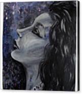 Amaya Looks To The Stars Canvas Print