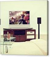 Amazing Home Theaters Systems Canvas Print